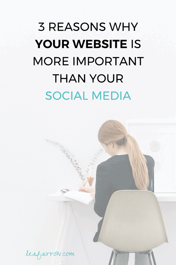 3 Reasons Why Your Website is More Important Than Your Social Media