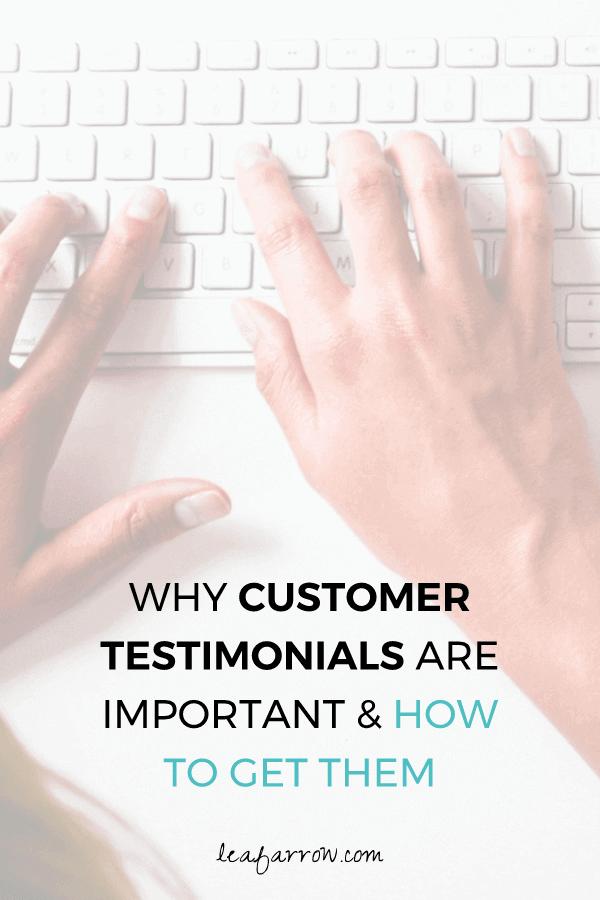 Why Customer Testimonials Are Important and How To Get Them   Farrow Copywriting, Tasmania, Australia